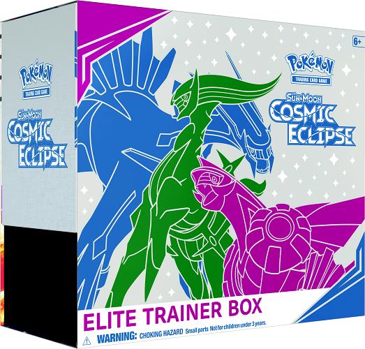Pokemon TCG Sun & Moon: Cosmic Eclipse Elite Trainer Box $29.99