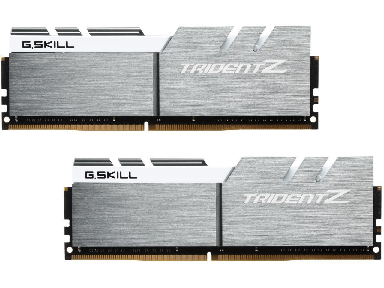 G.SKILL TridentZ Series 32GB (2 x 16GB) 288-Pin DDR4 3200 (PC4 25600) Desktop Memory $300 + Free Shipping