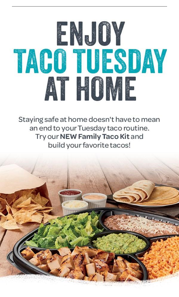 Rubio's Family Taco Kit $29 - Free Delivery