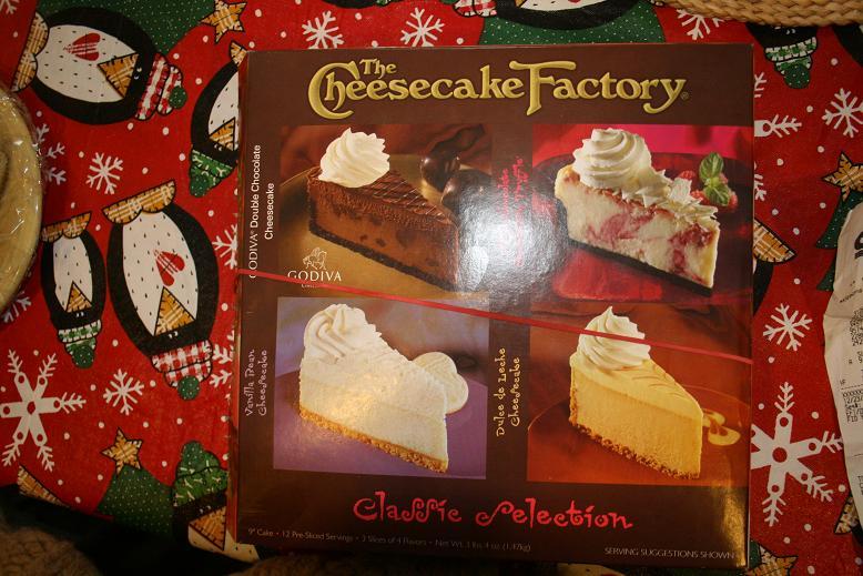 Costco: Cheesecake Factory Frozen Cheesecake 12 Slices 3lbs 4oz. $7.97 YMMV
