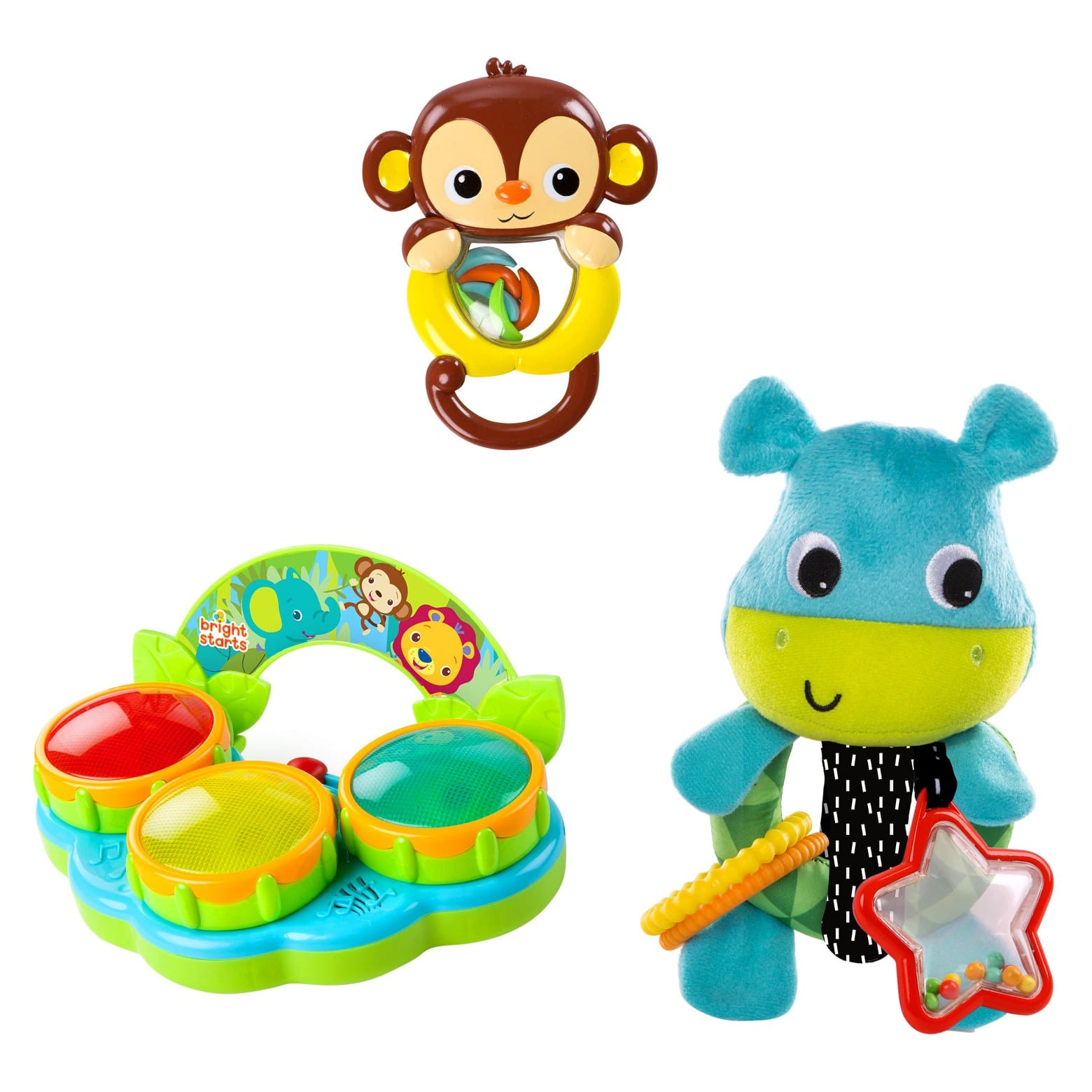 Bright Starts Jammin Jungle Gift Set $7.19