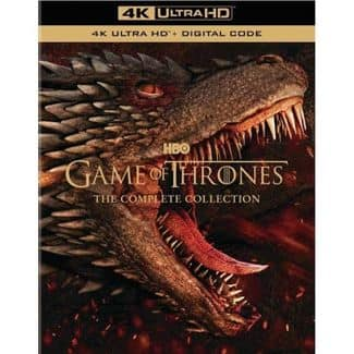 Game of Thrones: The Complete Series Collection (4K+Digital) [Blu-ray] @ Target