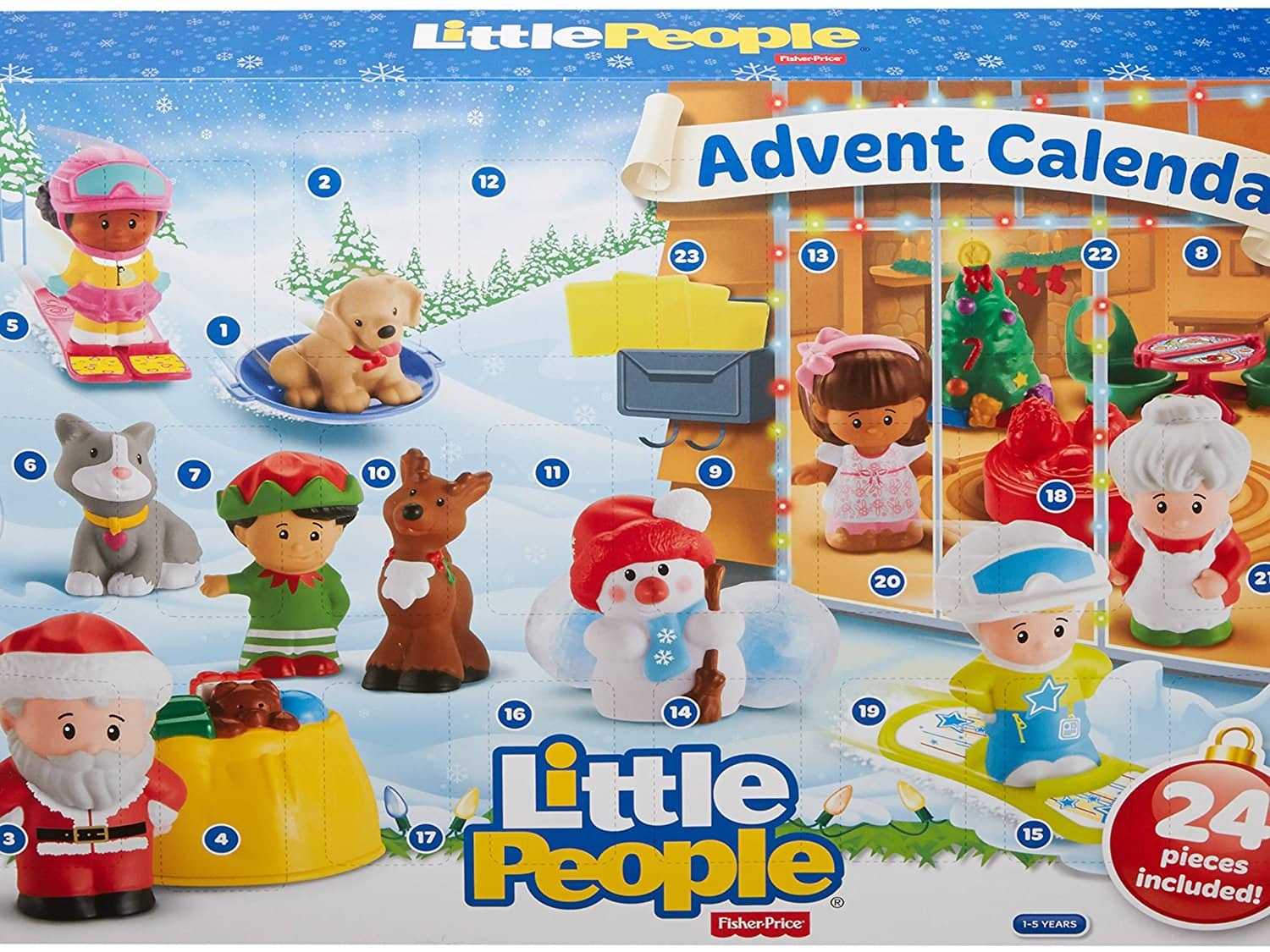 Little People Advent Calender BACK IN STOCK $12
