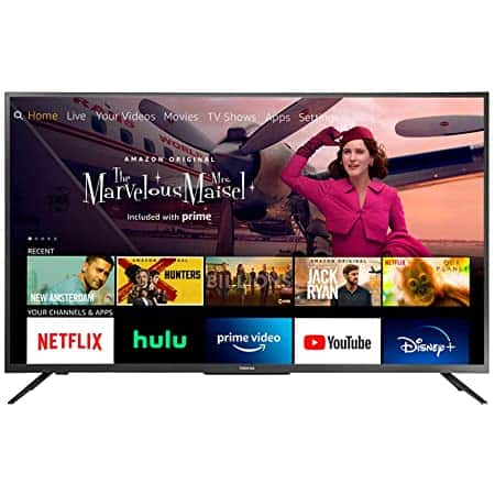 """Toshiba 50"""" Smart 4K UHD with Dolby Vision - Fire TV Edition ($309.99 +FS w/Prime)"""