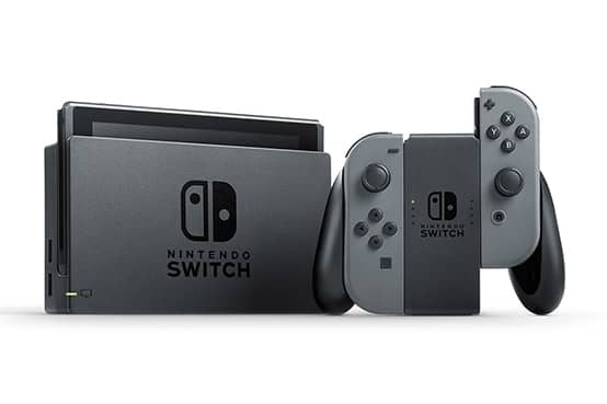 Nintendo Switch Console w/ Gray Joy-Con $279.88