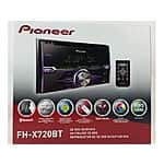 Pioneer FH-X720BT CD Receiver with Bluetooth - OEM (+filler using VCO) $92 w/Free shipping @ neweggflash.com