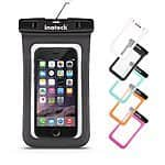 "Inateck Universal IPX8 Waterproof Case for Phones with Screen Display Up to 5.7"", Credit Card Waterproof Bag Case for $6.99 AC @ Inateck online via amazon (prime eligible)"