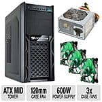 Cougar Solution Steel Gamer Case w/ 600W PSU & 3x Case Fan  $30 after $60 Rebate + Free S/H