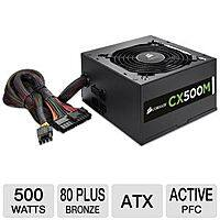 TigerDirect Deal: Corsair CX 500W Modular PSU, 80+ Bronze Cert. $30 AR/AC @ TigerDirect w/free shipping