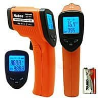 Amazon Deal: Nubee Non-Contact Infrared Thermometer Digital Temperature Guns w/ Laser Sight On Sale: NUB-8500H for $11.88, NUB-8550 for $12.98 & More @ Nubeestore via amazon (prime elig)