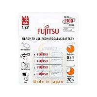 Newegg Deal: Fujitsu HR-4UTCEX(4B) 4-Pack AAA New 2100 Cycle Ni-MH Pre-Charged Rechargeable Batteries $8.49 AC w/FS @ newegg.com