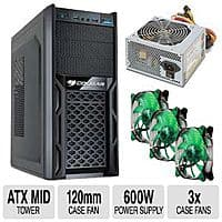 TigerDirect Deal: Cougar Steel Gamer Case Combo (Case + ULTRA 600w PSU +  3 Cougar Fans) $29.99 AR w/FS; LG 14X BluRay Burner $39.99 w/FS; NZXT S340 Case (White) $59.99 w/FS @ TigerDirect.com