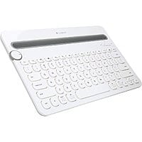 NeweggFlash Deal: Refurbished: Logitech K480 920-006343 White Bluetooth Wireless Mini Multi-Device Keyboard $21.99 (White) or $24.99 (Black) w/FS @ flash.newegg.com