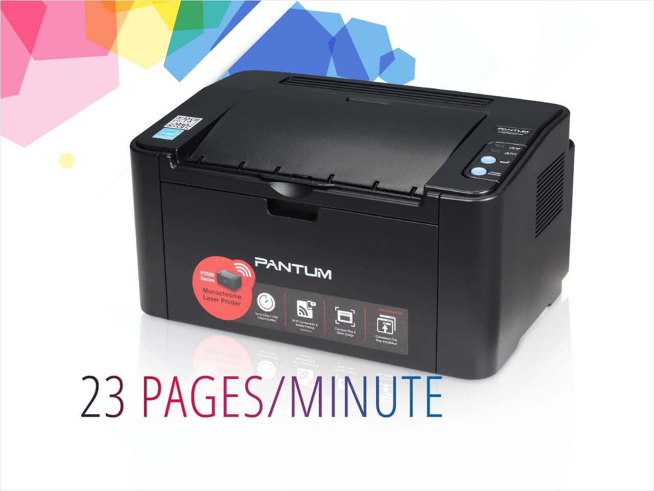Pantum P2502W Wireless Monochrome Laser Printer  $25 + Free Shipping