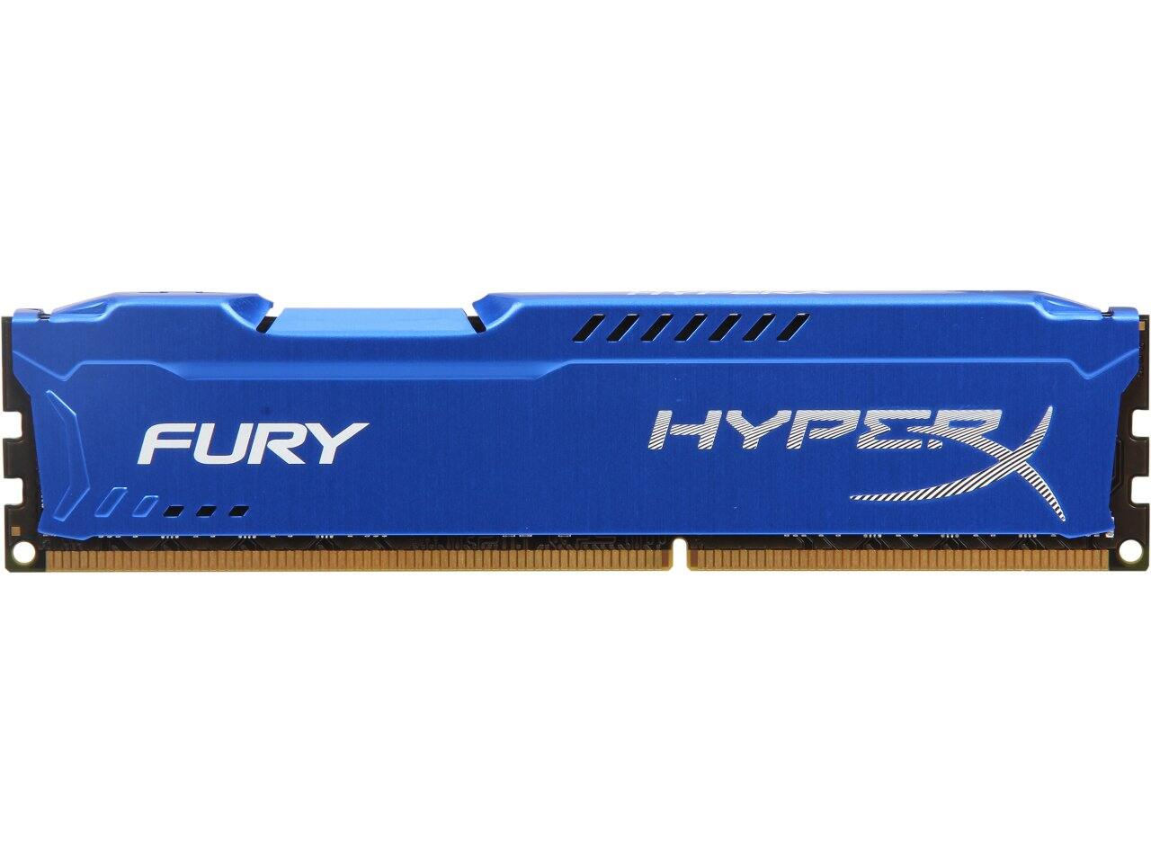 HyperX FURY 8GB (1x8GB) 240-Pin DDR3 SDRAM 1866 Mhz Desktop Memory $38.99 w/FS @ flash.newegg.com