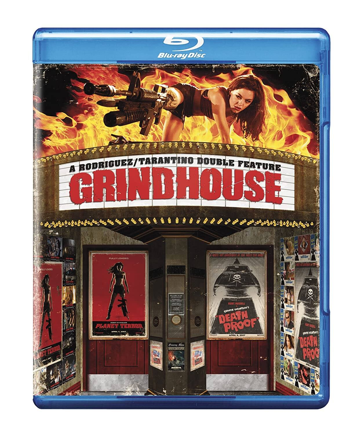 Grindhouse 2 Movie Collection (blu-ray) $7.99; Saw 8 Movie collection $12.49 (blu-ray) & more at amazon, best buy