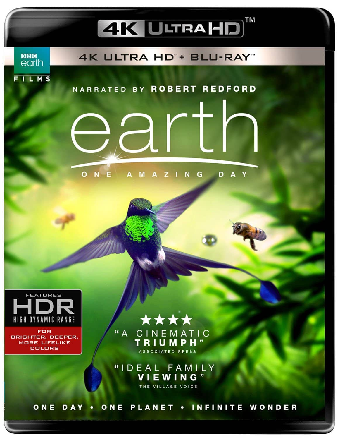 Earth: One Amazing Day (BD/UHD Combo) $12.99 at amazon.com