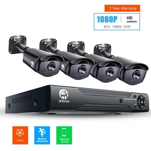 JOOAN 2MP TVI Security Camera System 4 X 1080P Weatherproof TVI Camera @ Amazon AC $116.76