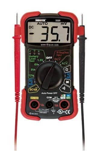 Equus 3320 Innova Auto Ranging Digital Multimeter $14.44 at Walmart.com w/free shipping