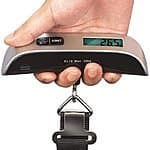 110 lb Capacity Portable Digital Luggage Scale for 7.99 shipped at tanga