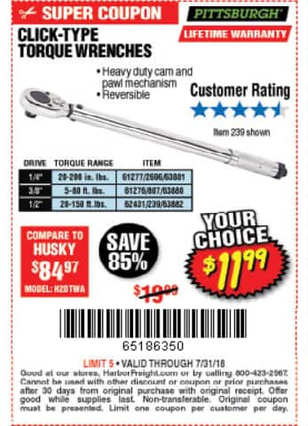 can harbor freight scan coupon from phone