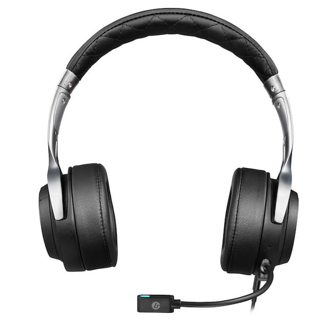 LucidSound LS20 Over‑Ear Headset ‑ Black $29.73