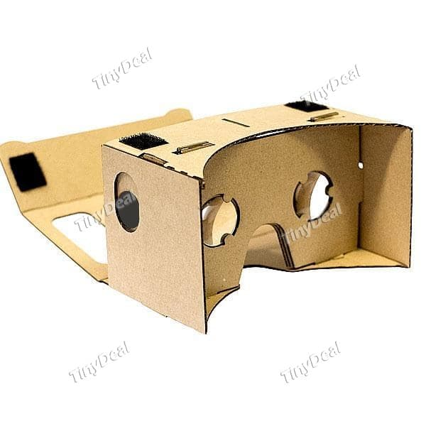 Google Cardboard Kit for $2.99 FS from TinyDeal