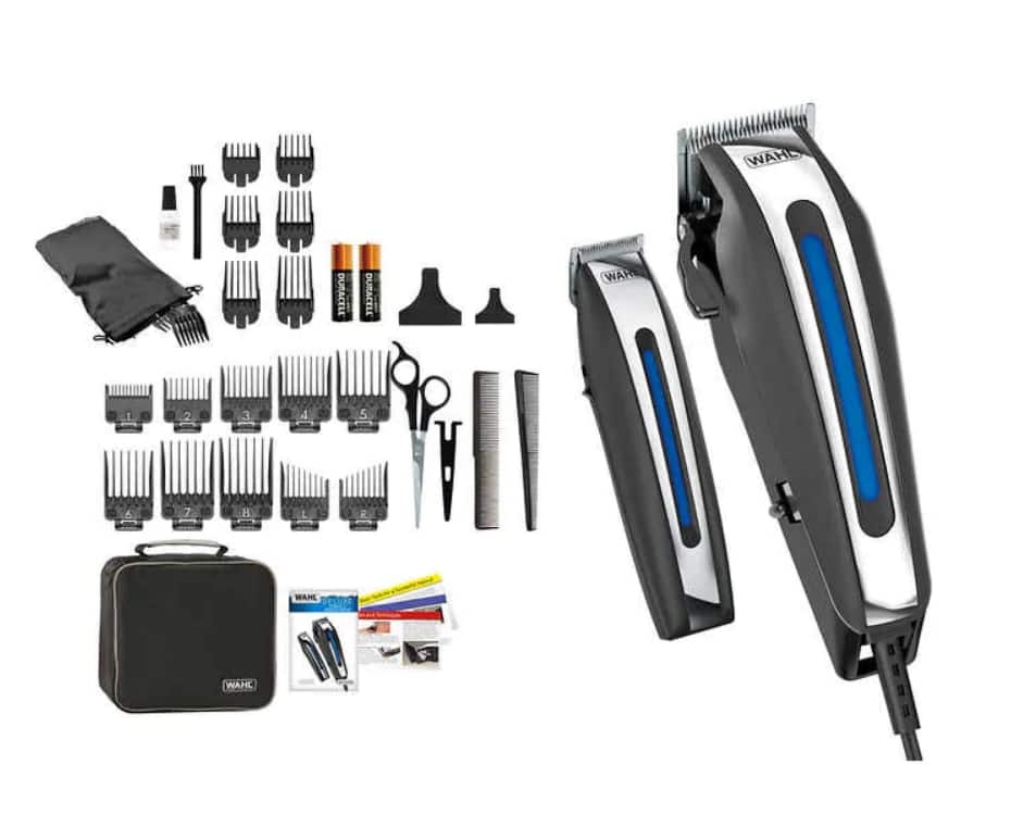 Wahl Deluxe Haircut Kit with Trimmer and Storage Case (BACK IN STOCK)
