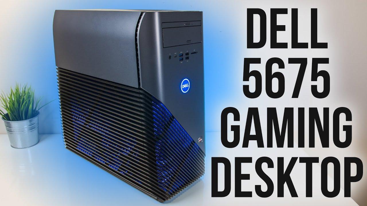 Dell Inspiron 5676 Gaming Desktop (Ryzen 7 2700 16GB RX 580 1TB) for $699.99 Free Shipping