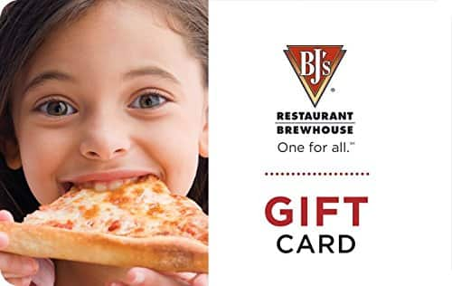 $10 off $25 of E-gift cards on Amazon for BJ's Restuarant and JC Penney