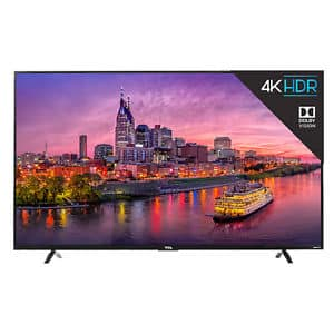 """TCL 55"""" P607 $599 after $50 off coupon PSHOPEARLY"""