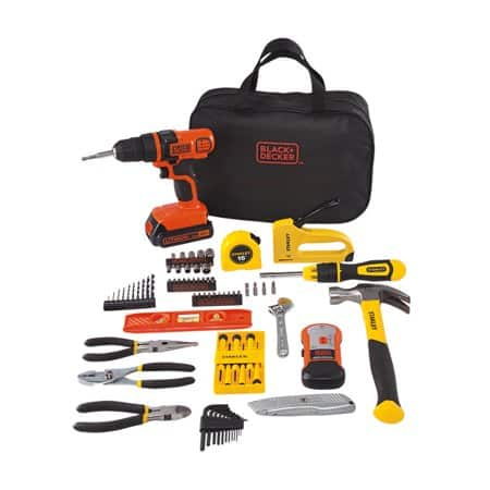 STANLEY BLACK+DECKER 20-Volt MAX 85-Piece Drill Kit $20 -YMMV -walmart in-store