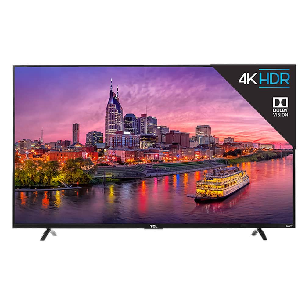 "55"" TCL 55P607 4K UHD HDR Roku Smart LED TV $600 AC + FS on eBay (sold by electronic_express)"