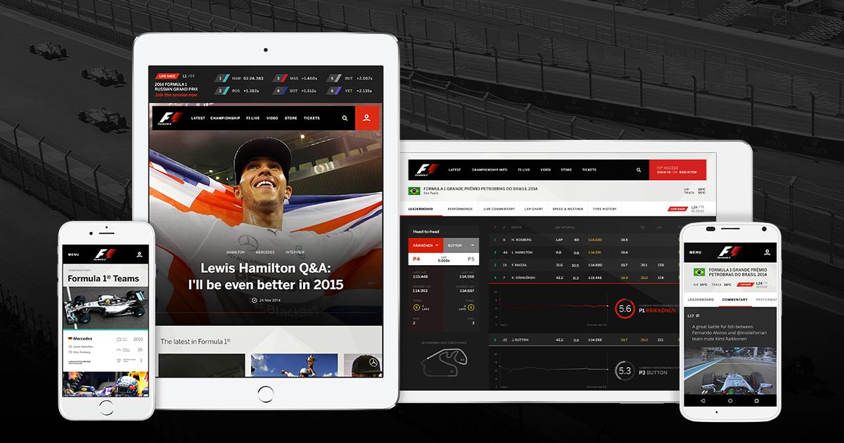 Formula 1 Grand Prix: 50% off F1 TV Pro annual subscription