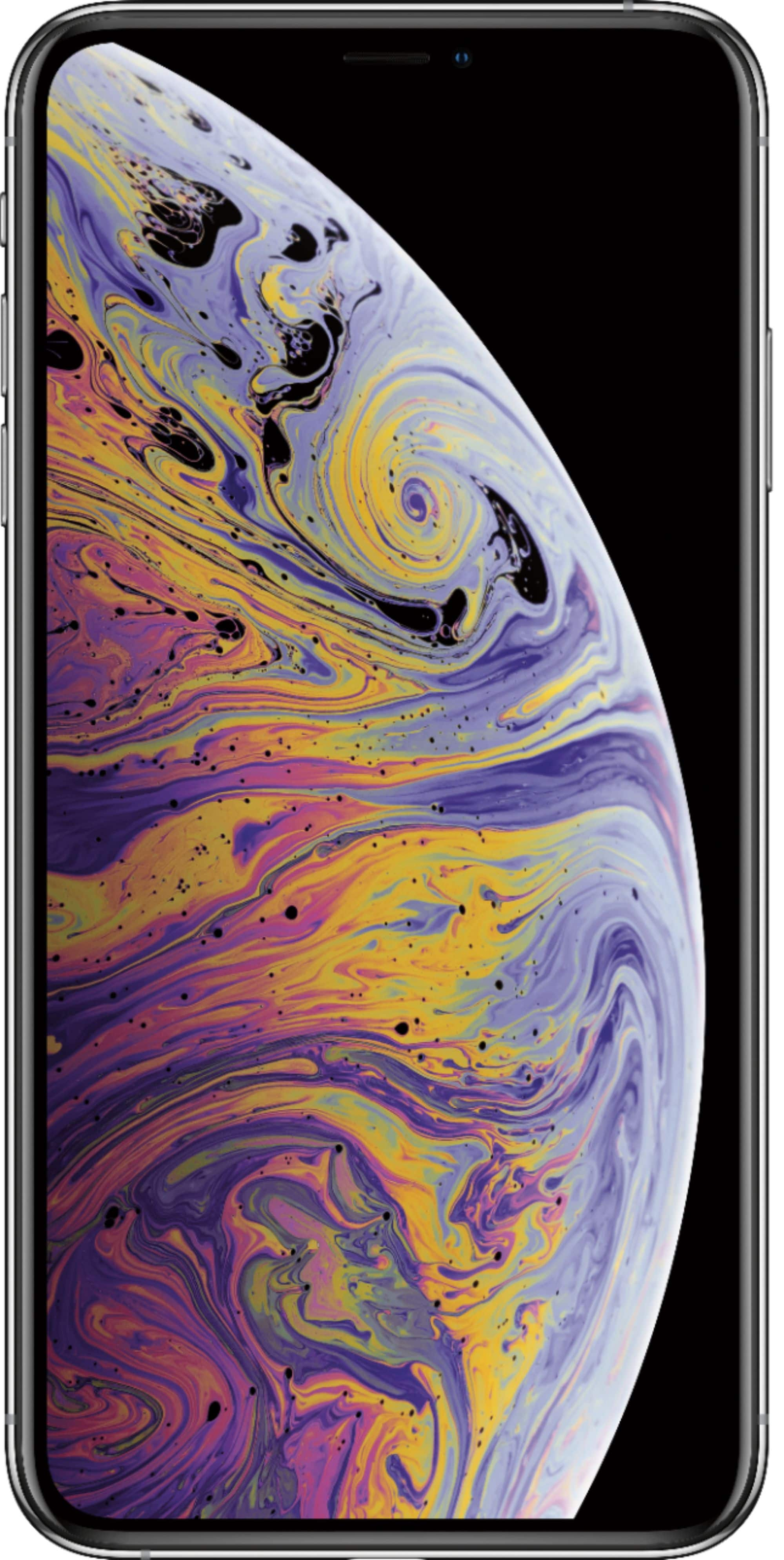 "Apple iPhone XS Max 256GB $649 One-Time Payment + $65 for 1 month service plan [Apple 1 Yr Warranty] Large 6.5"" screen"