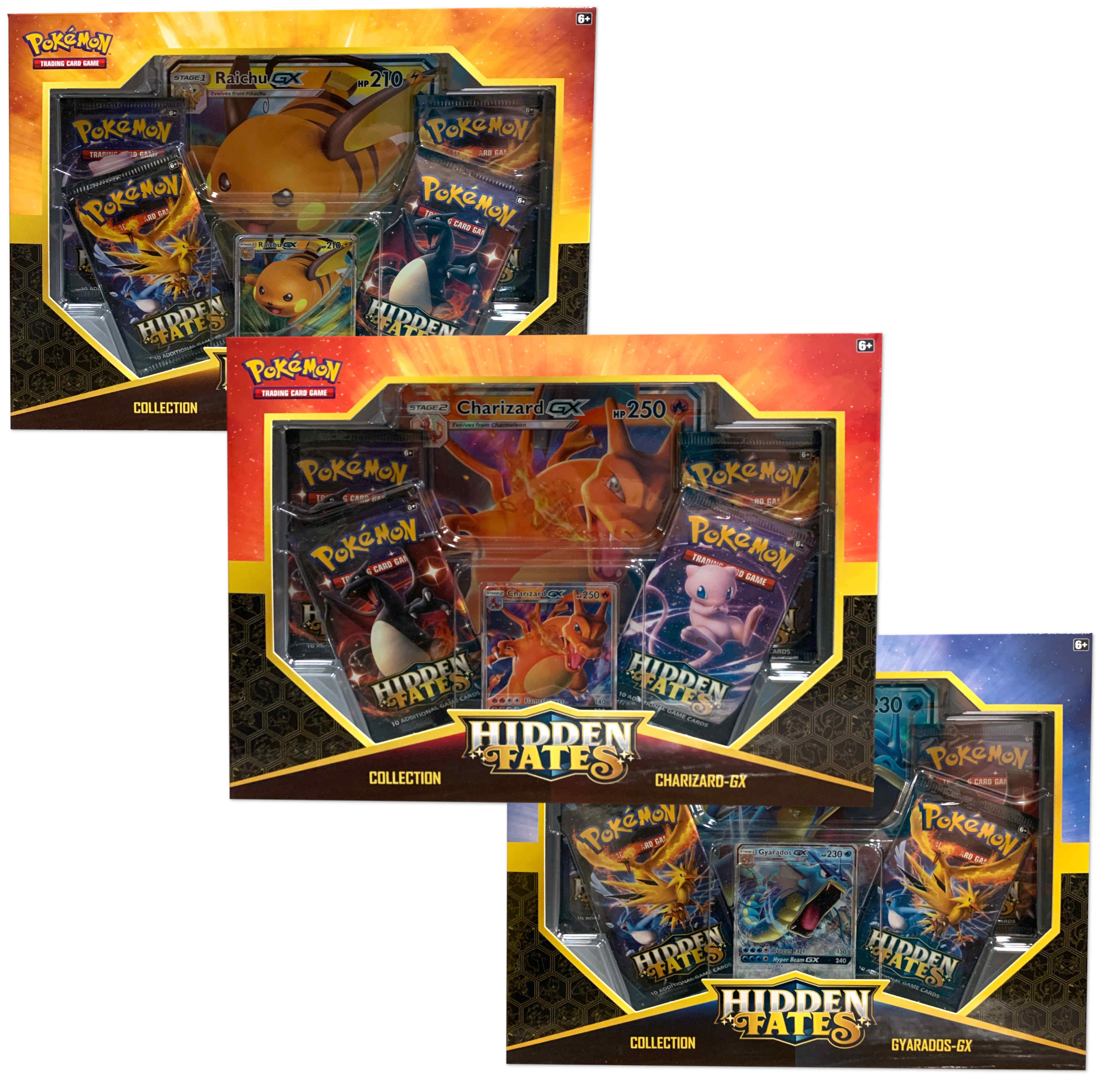 Pokemon Sun & Moon 11.5 Hidden Fates Assorted Gx Box- $20 WalMart In store only YMMV