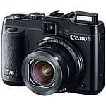 Canon PowerShot G16 12.1MP 5x Digital Camera (f/1.8-2.8) $269.99