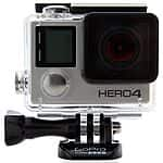 GoPro HERO4 Black 4K Action Camera (4K @ 30fps, 1080p @ 120fps) $379