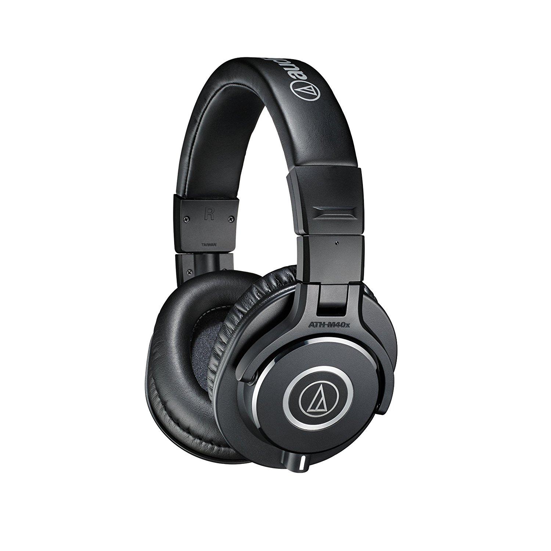 Audio-Technica ATH-M40x Professional Monitor Headphones [Headphone] $74.25