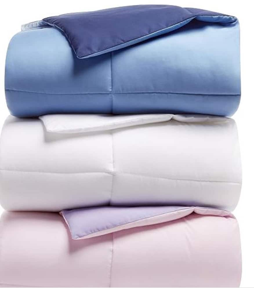 Martha Stewart Reversable Down Comdorters Twin $17.99, Full/Queen $21.99 King $24.99 $17.98