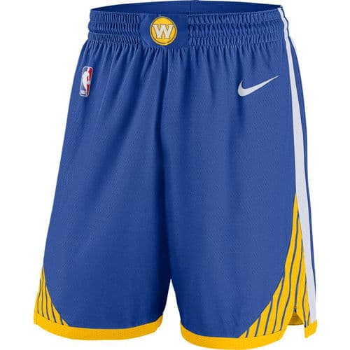 NBA Golden State Warriors Adult Nike Icon Edition Swingman Shorts $40