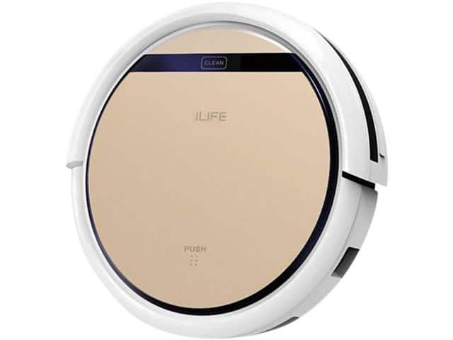 ILIFE V5S Pro Intelligent Robotic Vacuum Cleaner for $129.99 + Free Shipping NEWEGGFlash