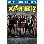 Pitch Perfect 2 (Blu-ray + DVD + DIGITAL HD) $19.99 (Preorder)