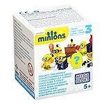 Mega Bloks Minions Blind Pack Series III Buildable Figure $3