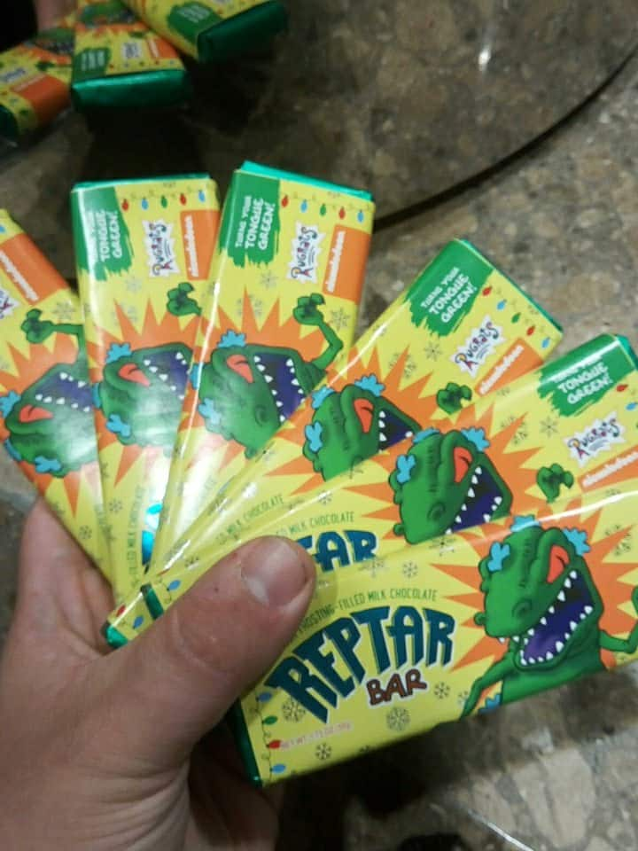 Limited Edition Rugrats Reptar Green Chocolate Bar 24 Pack - (ITS REAL!) $2.62 per bar ($10+ on eBay))