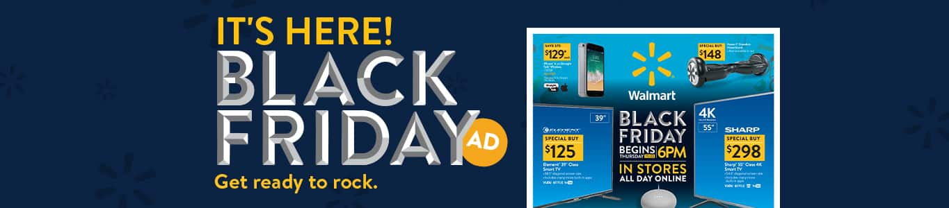 Walmart Black Friday Ad Just Dropped!