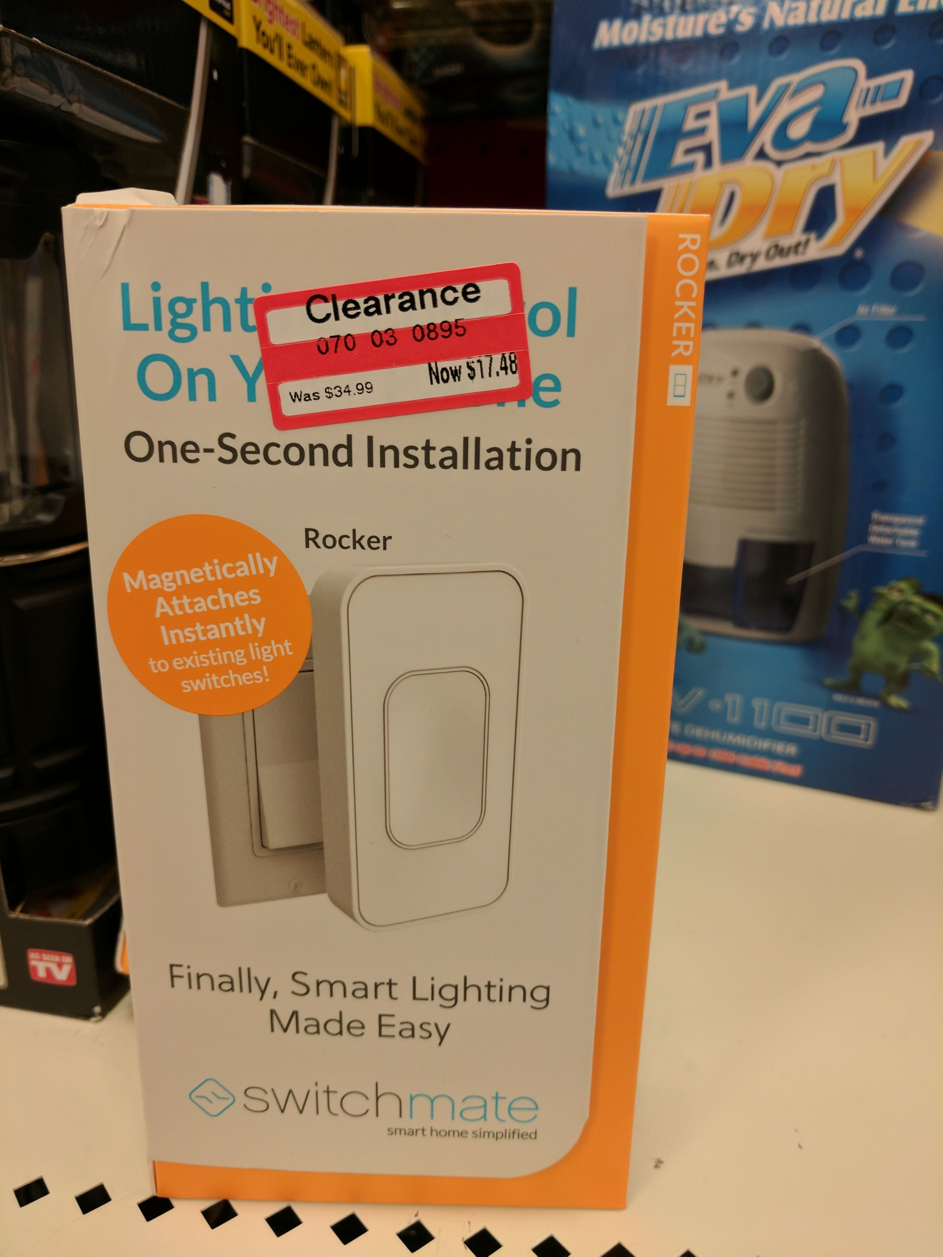 Switchmate Smart Light Magnetic Toggle Switch - Target B&M YMMV - $17.48