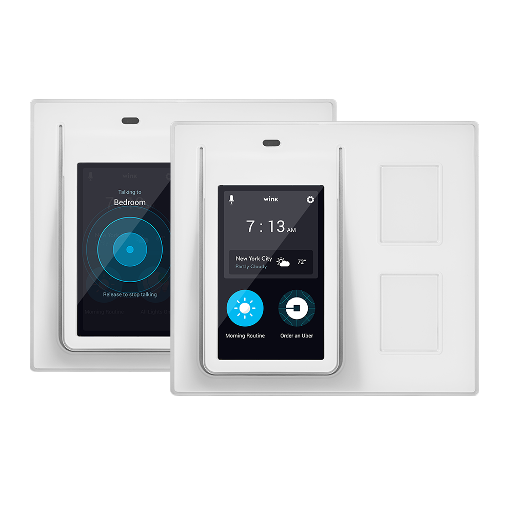 Wink Relay Smart Light Switch / Touchscreen Controller (2-Pack) - $99 + Free Shipping