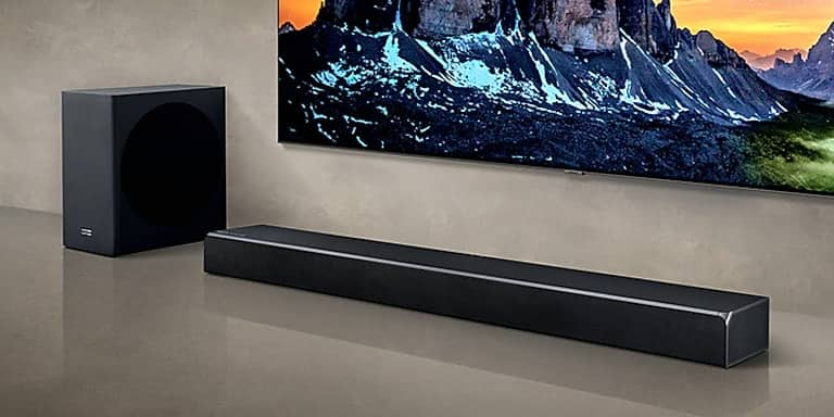 Samsung HW-Q80R Soundbar 370 watt 5.1.2 Soundbar - $525 (authorized seller via Greentoe)