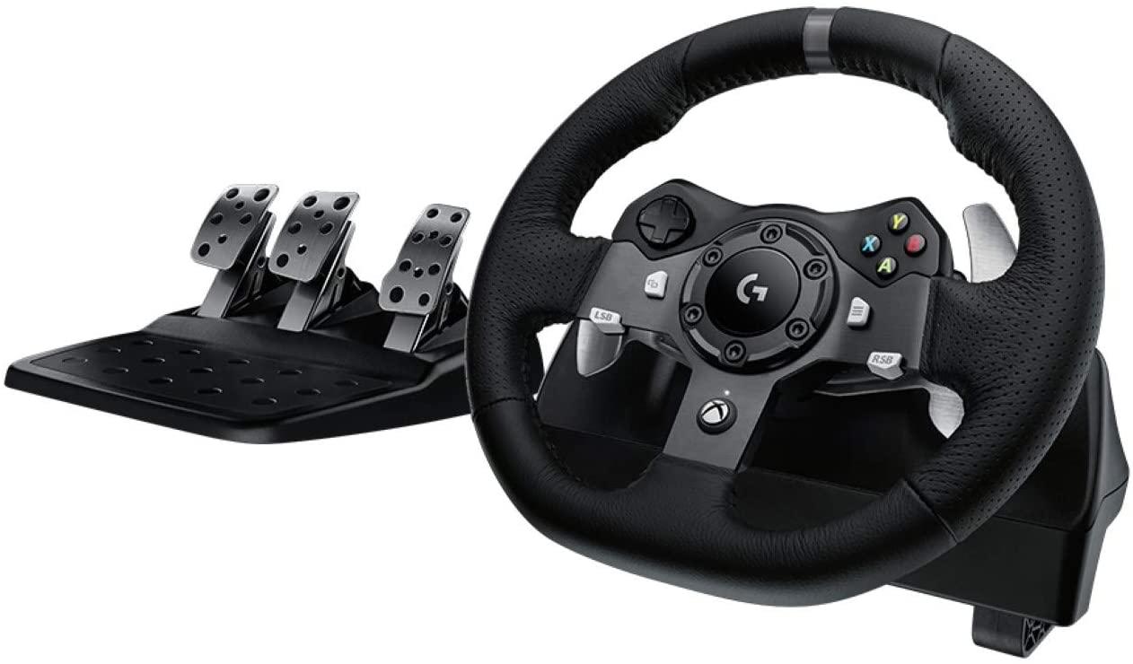 Logitech G920 Dual Motor Force Feedback Racing Wheel - $217.59